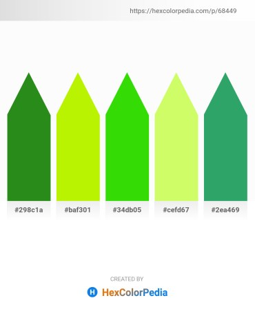 Palette image download - Forest Green – Chartreuse – Lime – Green Yellow – Medium Sea Green