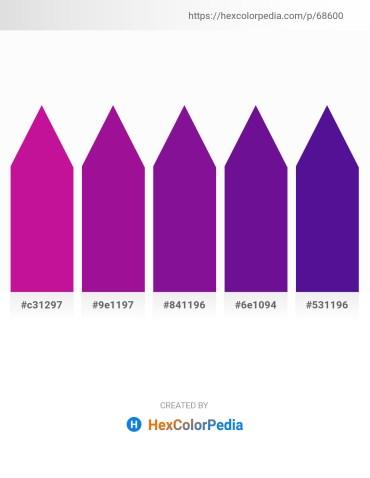 Palette image download - Medium Violet Red – Medium Violet Red – Indigo – Indigo – Indigo