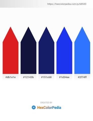 Palette image download - Crimson – Midnight Blue – Midnight Blue – Blue – Dodger Blue