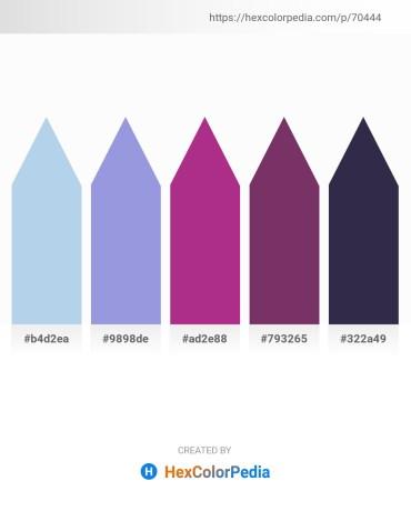 Palette image download - Light Blue – Medium Purple – Medium Violet Red – Pink – Papaya Whip