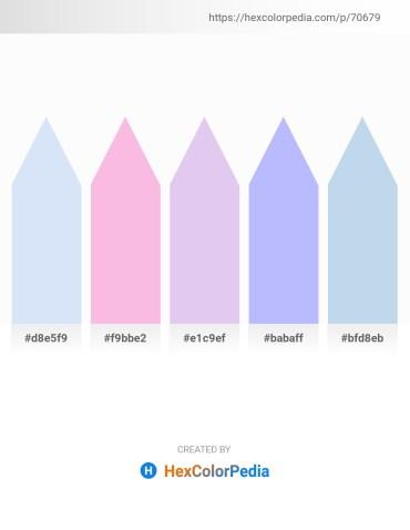 Palette image download - Lavender – Pink – Lavender – Light Sky Blue – Light Blue