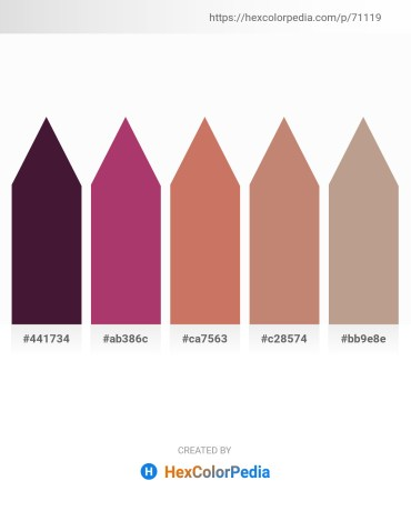 Palette image download - Indigo – Indian Red – Indian Red – Rosy Brown – Rosy Brown