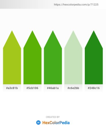 Palette image download - Yellow Green – Olive – Olive Drab – Beige – Forest Green