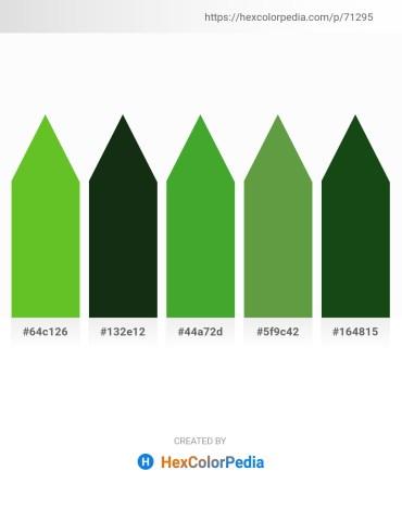 Palette image download - Lime Green – Magenta – Lime Green – Dark Olive Green – Cadet Blue