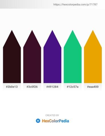Palette image download - Aqua – Sky Blue – Midnight Blue – Light Sea Green – Orange