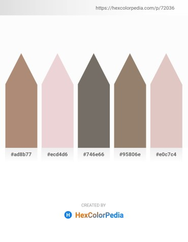 Palette image download - Rosy Brown – Thistle – Dim Gray – Gray – Thistle