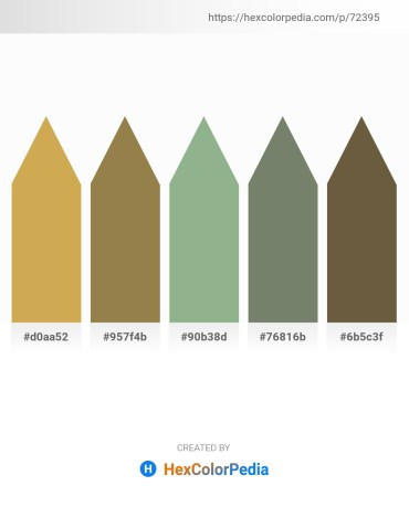 Palette image download - Peru – Dark Khaki – Dark Sea Green – Gray – Dark Olive Green