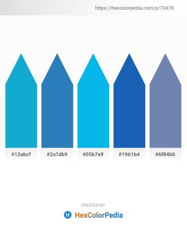Palette image download - Light Sea Green – Aqua – Deep Sky Blue – Royal Blue – Thistle