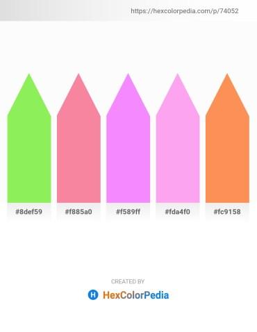 Palette image download - Light Green – Light Coral – Violet – Pink – Coral