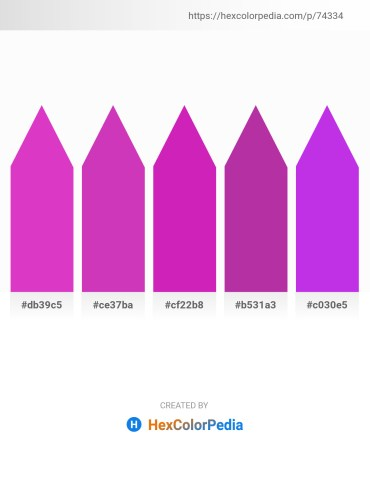 Palette image download - Orchid – Orchid – Medium Violet Red – Medium Violet Red – Blue Violet