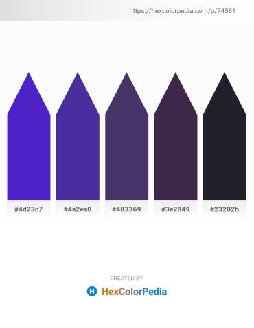 Palette image download - Blue Violet – Dark Slate Blue – Dark Slate Blue – Dark Slate Blue – Dark Slate Blue