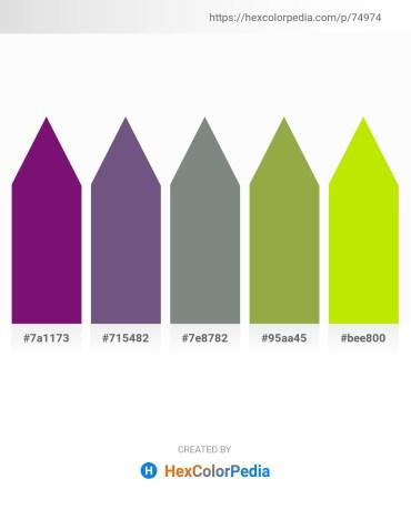 Palette image download - Purple – Dark Slate Blue – Slate Gray – Dark Khaki – Chartreuse