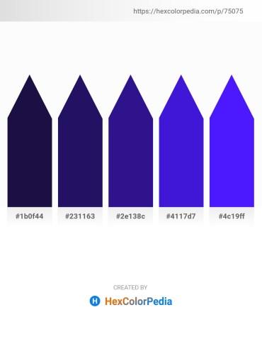 Palette image download - Midnight Blue – Midnight Blue – Midnight Blue – Blue Violet – Blue