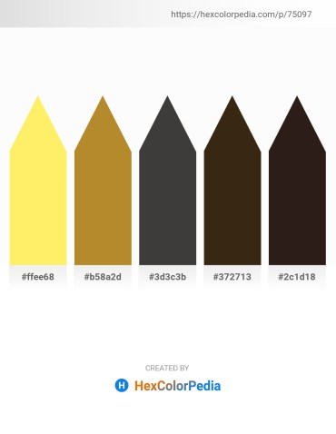 Palette image download - Navajo White – Peru – Dim Gray – Blue Violet – Black