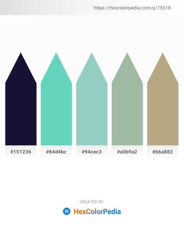 Palette image download - Midnight Blue – Medium Aquamarine – Purple – Dark Sea Green – Midnight Blue
