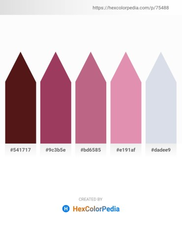 Palette image download - Midnight Blue – Purple – Indian Red – Pale Violet Red – Light Steel Blue