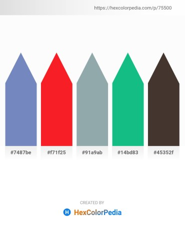 Palette image download - Steel Blue – Red – Light Slate Gray – Light Sea Green – Slate Gray