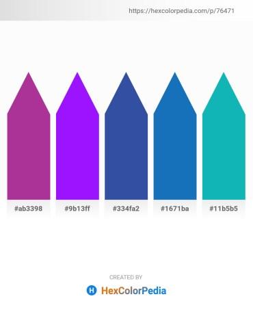 Palette image download - Brown – Dark Violet – Dark Slate Blue – Brown – Light Sea Green