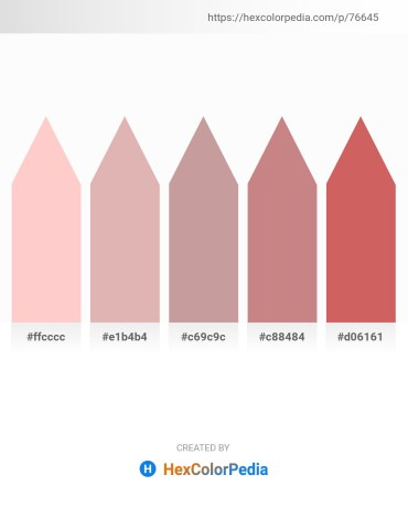 Palette image download - Pink – Tan – Rosy Brown – Rosy Brown – Indian Red