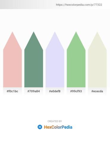 Palette image download - Khaki – Cadet Blue – Lavender – Dark Sea Green – Beige