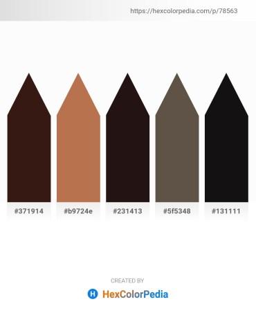 Palette image download - Blue Violet – Indian Red – Black – Dim Gray – Black
