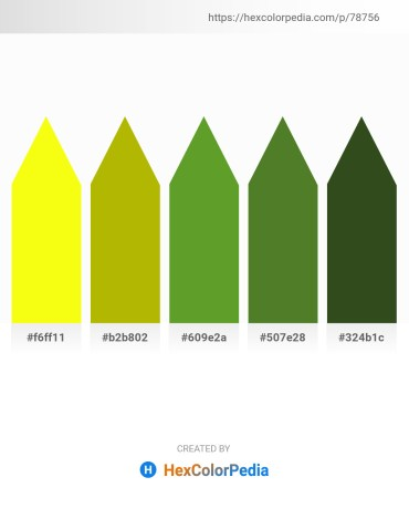 Palette image download - Yellow – Medium Turquoise – Olive Drab – Olive Drab – Dark Olive Green