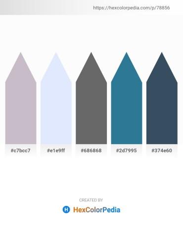 Palette image download - Thistle – Alice Blue – Dim Gray – Steel Blue – Dark Slate Gray