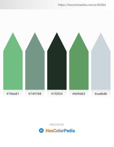 Palette image download - Dark Sea Green – Cadet Blue – Dark Slate Gray – Dim Gray – Light Steel Blue