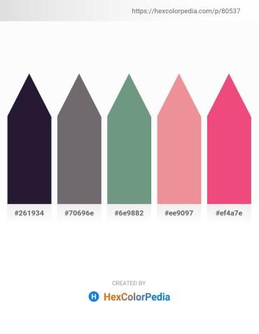 Palette image download - Black – Dim Gray – Cadet Blue – Light Coral – Light Coral