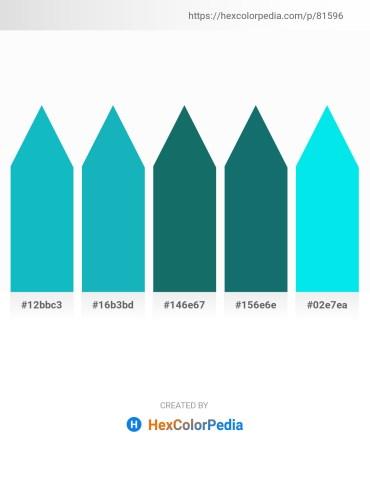 Palette image download - Light Sea Green – Light Sea Green – Sea Green – Royal Blue – Aqua