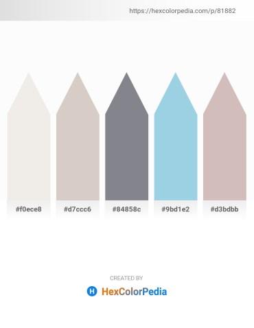 Palette image download - White Smoke – Light Gray – Slate Gray – Light Blue – Thistle