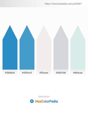 Palette image download - Light Sea Green – Steel Blue – White Smoke – Light Steel Blue – Light Steel Blue