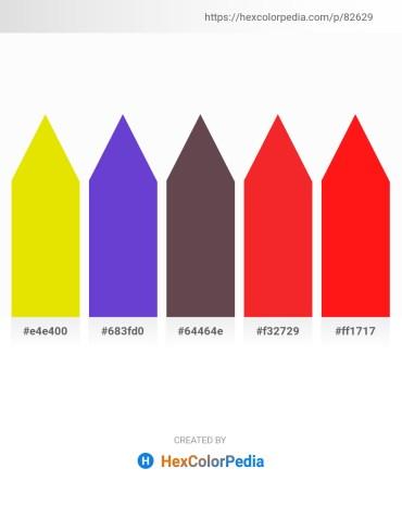 Palette image download - Gold – Slate Blue – Dim Gray – Crimson – Red