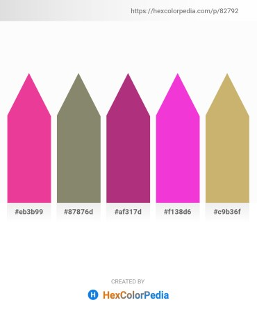 Palette image download - Medium Violet Red – Gray – Dark Olive Green – Magenta – Dark Khaki
