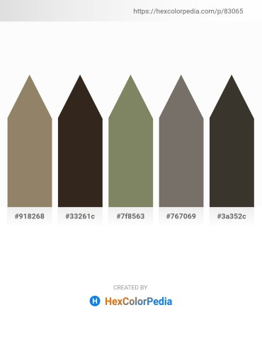 Palette image download - Gray – Black – Gray – Dim Gray – Brown