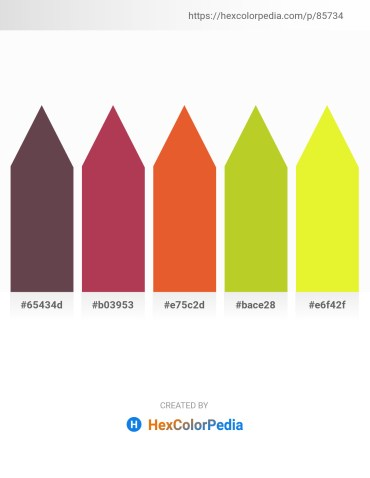 Palette image download - Dim Gray – Brown – Chocolate – Yellow Green – Yellow