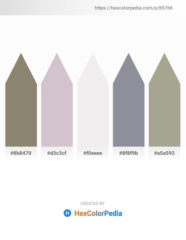 Palette image download - Gray – Thistle – White Smoke – Light Slate Gray – Dark Gray