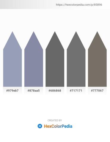 Palette image download - Light Slate Gray – Light Slate Gray – Dim Gray – Dim Gray – Dim Gray
