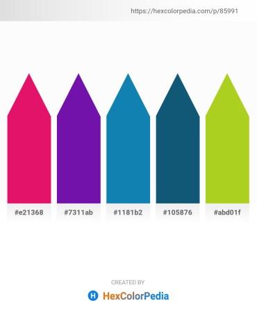 Palette image download - Crimson – Dark Violet – Brown – Sienna – Yellow Green