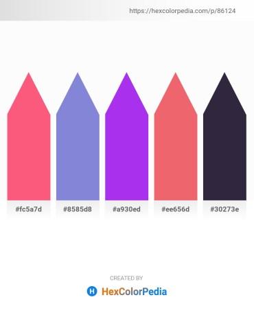 Palette image download - Salmon – Medium Purple – Blue Violet – Light Coral – Medium Turquoise