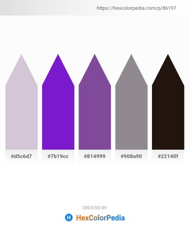 Palette image download - Light Steel Blue – Blue Violet – Dark Slate Blue – Gray – Gray