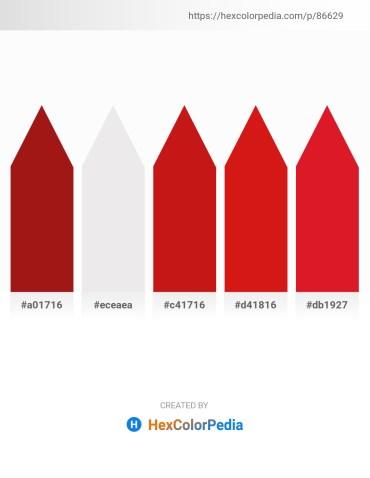 Palette image download - Firebrick – White Smoke – Firebrick – Crimson – Crimson