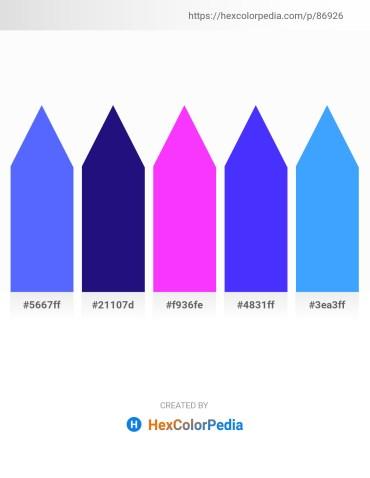 Palette image download - Dodger Blue – Midnight Blue – Rosy Brown – Blue – Dodger Blue