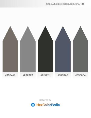 Palette image download - Dim Gray – Gray – Dark Slate Gray – Slate Gray – Dim Gray