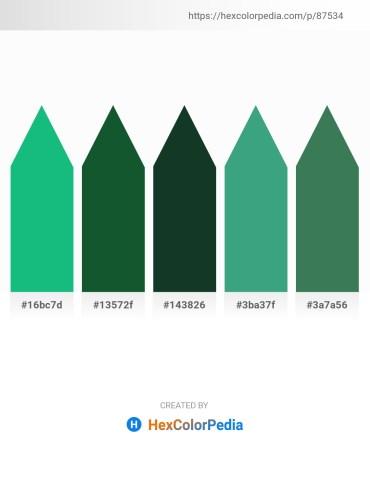 Palette image download - Light Sea Green – Aqua – Dark Slate Gray – Medium Sea Green – Sea Green