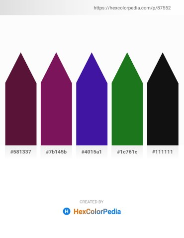 Palette image download - Aqua – Firebrick – Midnight Blue – Forest Green – Black