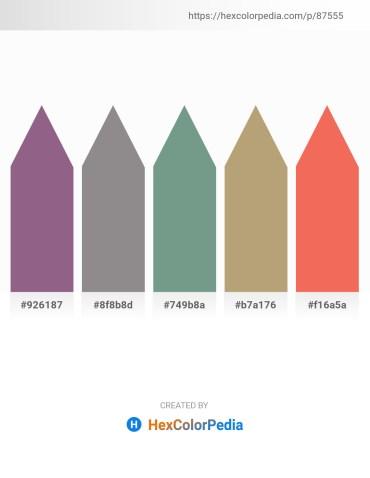 Palette image download - Medium Slate Blue – Gray – Cadet Blue – Dark Khaki – Salmon