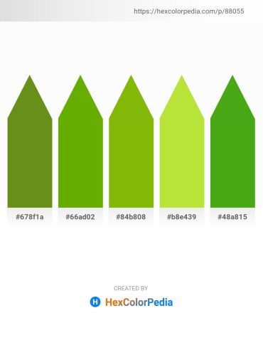 Palette image download - Olive Drab – Olive – Dark Sea Green – Yellow Green – Olive Drab
