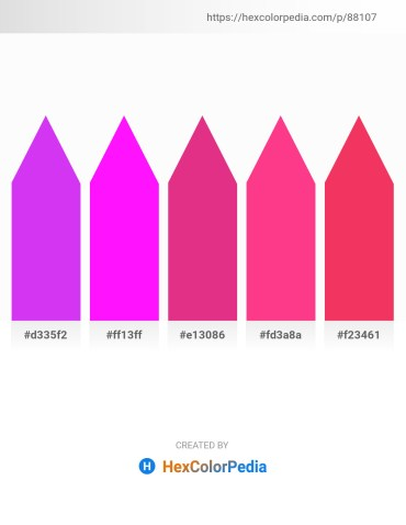 Palette image download - Blue Violet – Magenta – Medium Violet Red – Deep Pink – Crimson