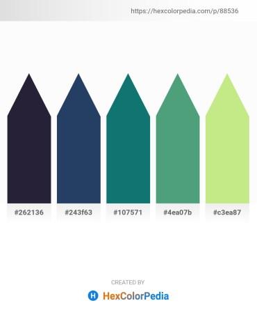Palette image download - Black – Midnight Blue – Teal – Cadet Blue – Khaki